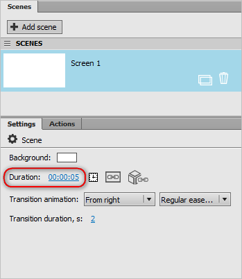 Interface editor: overview, screens and layers settings – Addreality